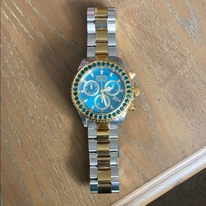 men's invicta limited edition two tone watch